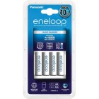 Eneloop Basic charger K-KJ18M with 4x AA LR6 1900 mAh