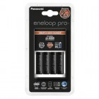 Eneloop Smart & Quick charger K-KJ16 with 4x AA LR6 2450 mAh