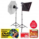 Interfit EX150 Mark ii Kit - 2 head - rent