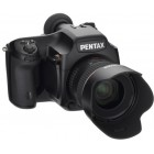 Pentax 645D photo camera + 55mm f/2,8 smc D FA 645 lens