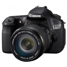 Canon EOS 60D with EF-S 17-85mm f/3.5-5.6 IS USM lens
