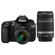 Canon EOS 60D with 18-55mm IS II + 55-250mm IS II lens