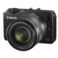 Canon EOS M + 18-55mm IS EF-M STM + Flash Speedlite 90EX